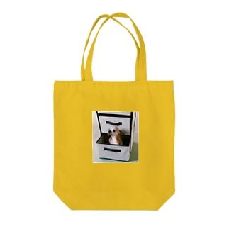 チワワ こじんまりココア Tote bags