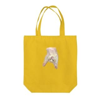 おもちさんのバンザイ Tote bags