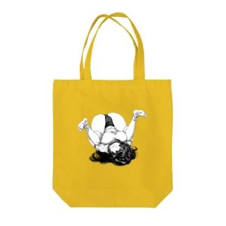 オオバンブルマイ まんぐりっ子 ブルマ Tote bags