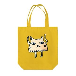 ネコになりたい(全身) Tote bags