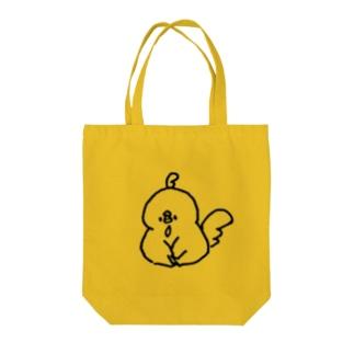 おすわりムニョル Tote bags