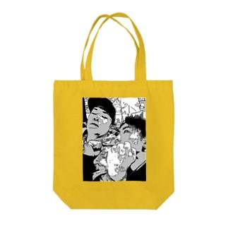ごうちゃんとりょうくん Tote bags