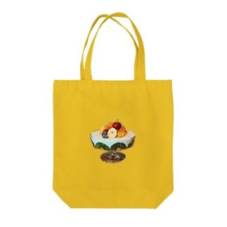 無限パフェ Tote bags