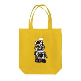 かつめジンガーα Tote bags