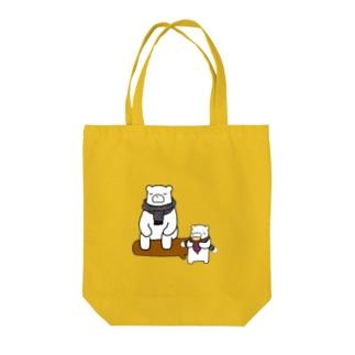 クマーとあんこすきー Tote bags