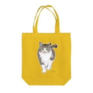ぽっちゃり猫ひーたん Tote bags