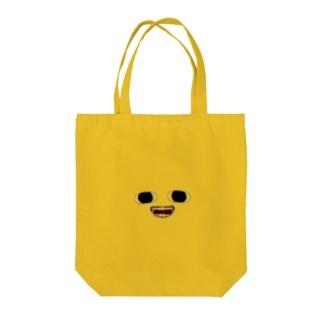 とち狂いくんトートーバッグ Tote bags