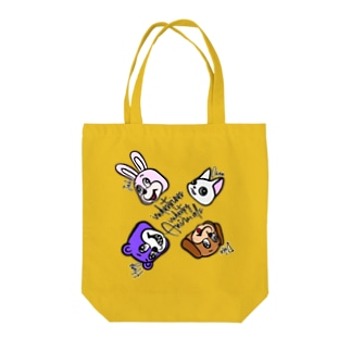 ANIMALs 4th Tote bags