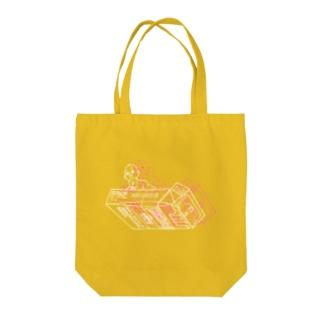 夢遊Ⅱ Tote bags