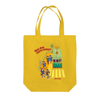 中島みなみのOne day starts today !!<今日も1日始まるよ> Tote bags