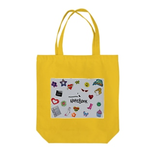 _________'s NOTEBOOK  Tote bags