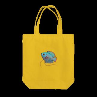 creat_tonakaiの熱帯魚 Tote bags