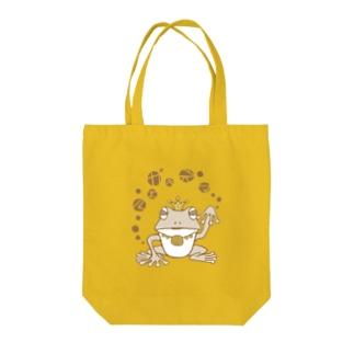 招きガエル Tote bags