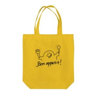 Bon appetit! Tote bags