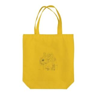 副担任マニア Tote bags