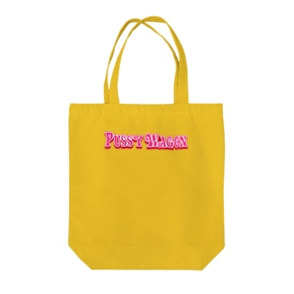 PUSSY WAGON Tote bags