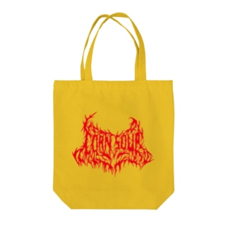 CORN SOUP (red) Tote bags