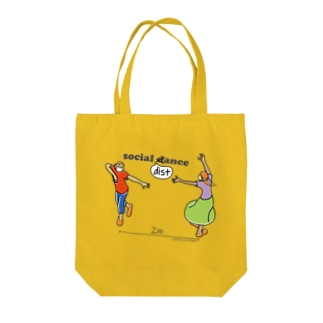 social distance2020 Tote bags