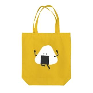 おにぎりC Tote bags