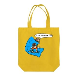 positive idea Tote bags