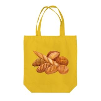 春のパン祭り Tote bags