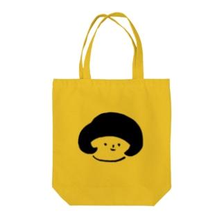 おかっぱの子 Tote bags