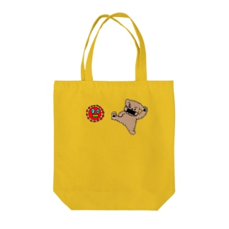 ウィルスばいばいヒーローズ Tote bags