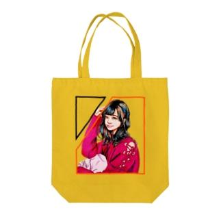 プリティー女子 Tote bags