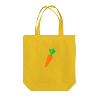 オレンジのにんじん Tote bags