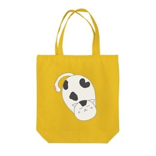 ぼのぼのぬこ Tote bags
