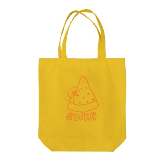 archのスイカとねこ Tote bags