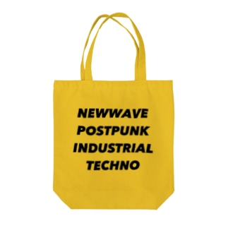 lawi0cir boutiqueのNEWWAVE POSTPUNK INDUSTRIAL TECHNO Tote bags