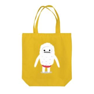 雪男のユキオ Tote bags