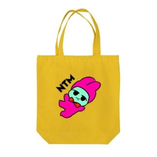 どんぱっぱうさぎ Tote bags