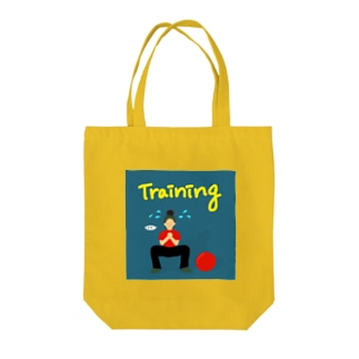 Training girl  Tote bags