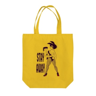Stay away Tote bags