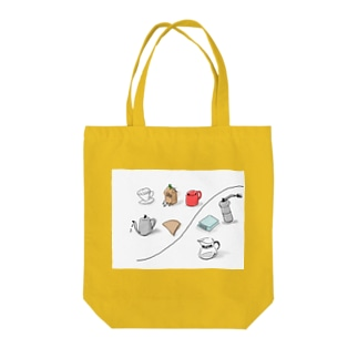 coffee items Tote bags