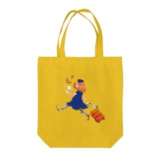 エアラインガール Tote bags