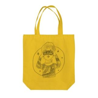 Future girl Tote bags