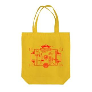 戰鬥殭屍的武器 Tote bags