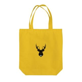鹿 & ExDNA ロゴ Tote bags