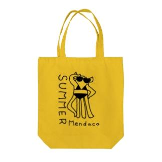 メンダコサマー Tote bags