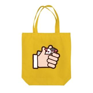 さんかく印 Tote bags