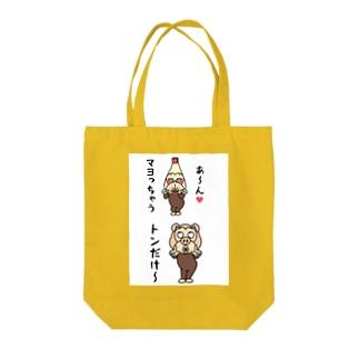 おなじく Tote bags