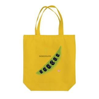 猫豆 Tote bags
