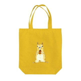 papricaのどんぐりとリス Tote bags