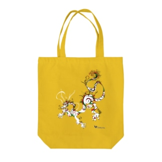 龍 A Tote bags