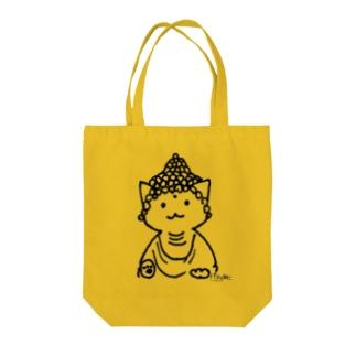 仏ニャン02 Tote bags