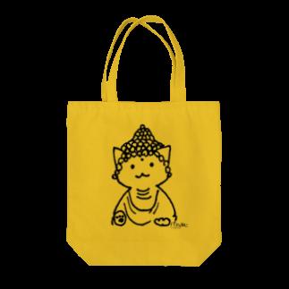 PygmyCat suzuri店の仏ニャン02 トートバッグ