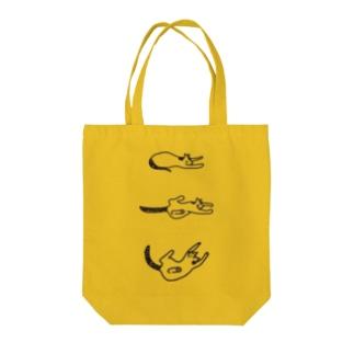 ごろごろにゃんこ Tote bags